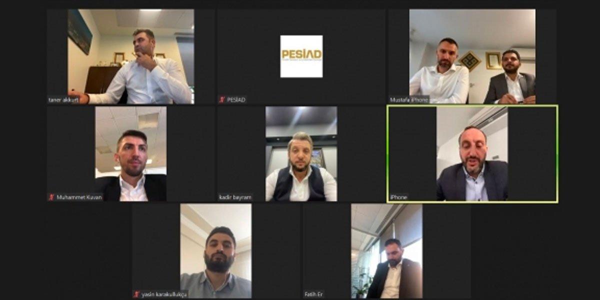 Pendik Vakıf Katılım Müdürlerimizle Video Konferans Aracılığıyla Görüşme Sağladık-0