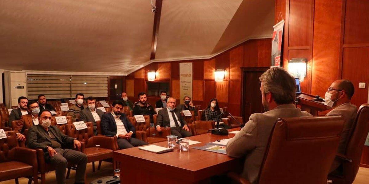 PESİAD ve Genç PESİAD Yönetim Kurulu Üyelerimizle Bir Araya Gelerek Hasbihal Ettik-2