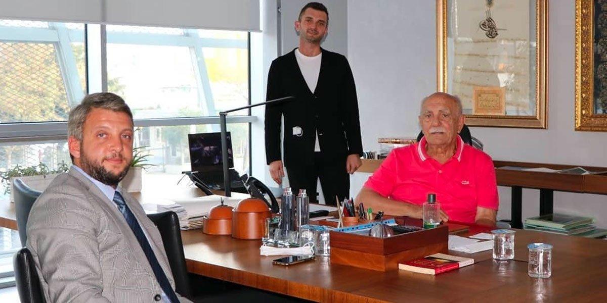 Onur Kurulu Üyemiz İbrahim Dumankaya yı Ziyaret Ettik-0