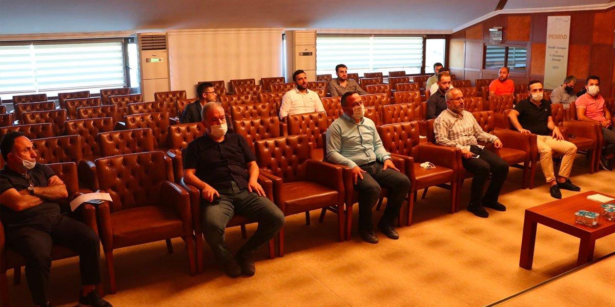 PESİAD ve Genç PESİAD Olarak Haftalık Olağan Yönetim Kurulu Toplantımız-2