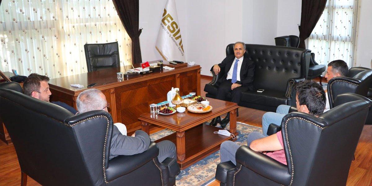 Pendik Kaymakamımız Sayın İlhan Ünsal Başkanımıza ve Yönetim Kurulumuza İade-i Ziyarette bulundu-2