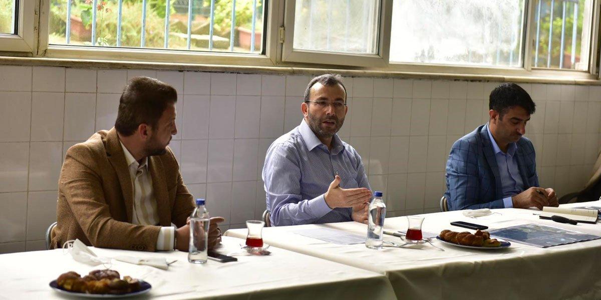 Kurtköy Bölgesi Sanayi Sektörü Yöneticileri İle Bir Araya Geldik-1
