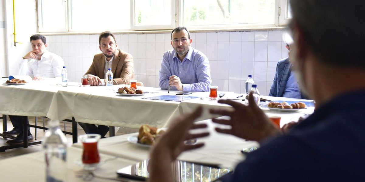 Kurtköy Bölgesi Sanayi Sektörü Yöneticileri İle Bir Araya Geldik-7