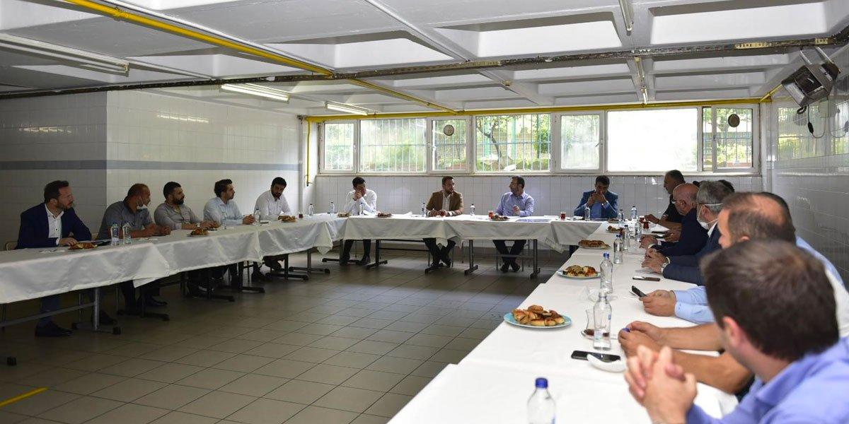 Kurtköy Bölgesi Sanayi Sektörü Yöneticileri İle Bir Araya Geldik-4
