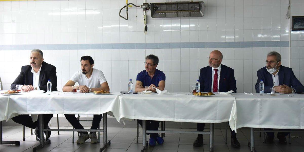 Kurtköy Bölgesi Sanayi Sektörü Yöneticileri İle Bir Araya Geldik-9