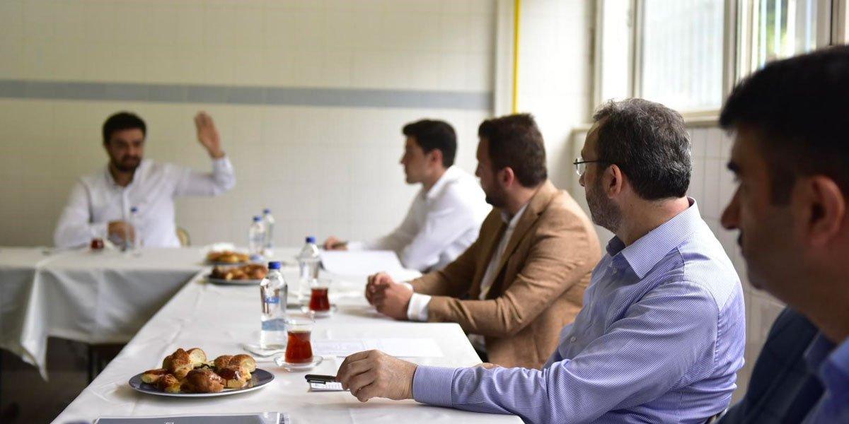 Kurtköy Bölgesi Sanayi Sektörü Yöneticileri İle Bir Araya Geldik-12