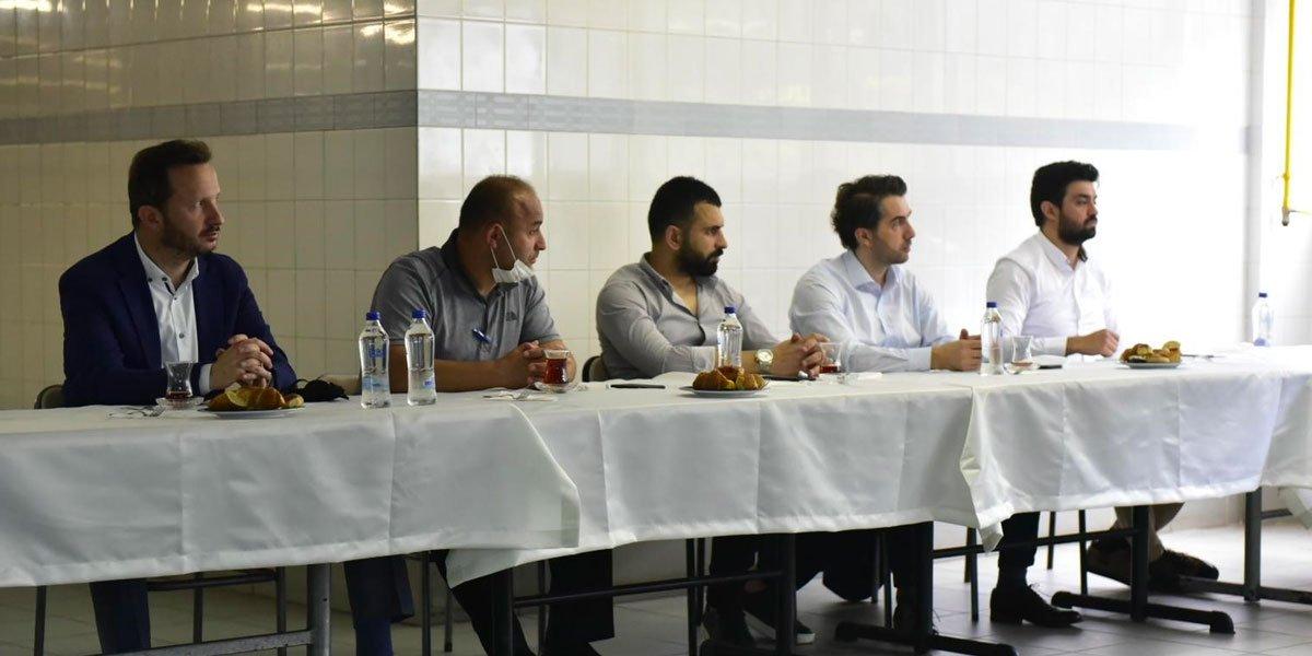 Kurtköy Bölgesi Sanayi Sektörü Yöneticileri İle Bir Araya Geldik-11