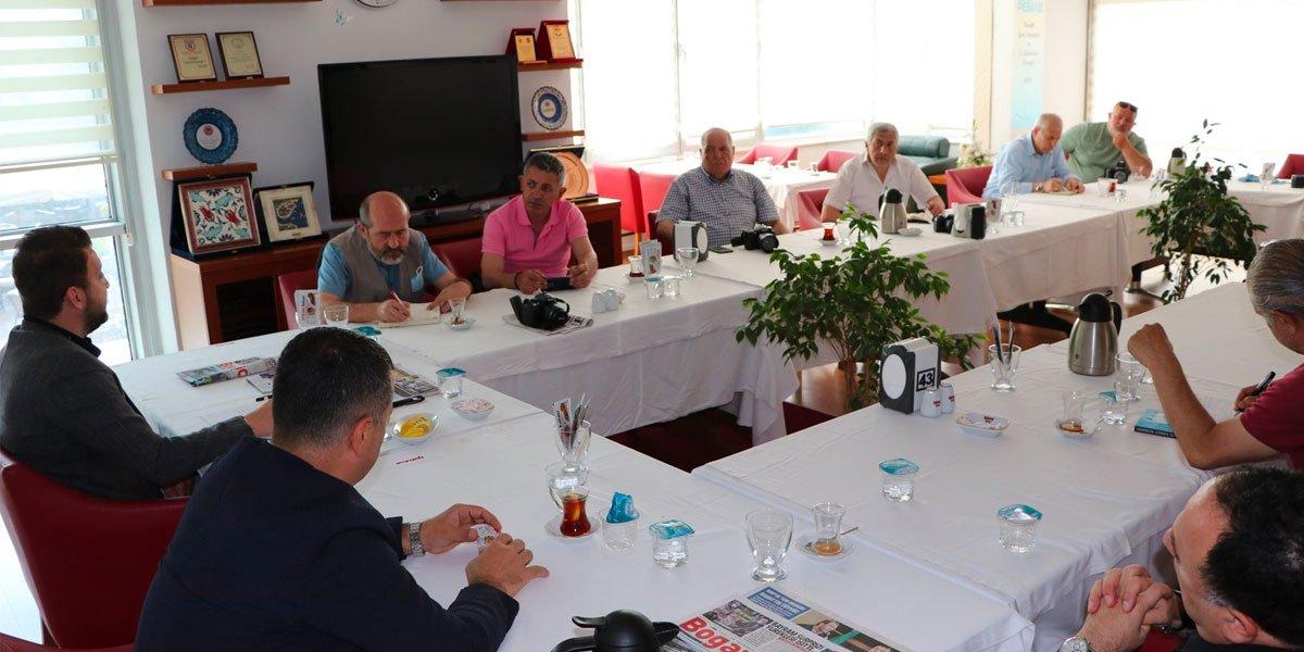 Pendik Yerel Basın Mensupları İle Kahvaltı Programında Bir Araya Geldik-4