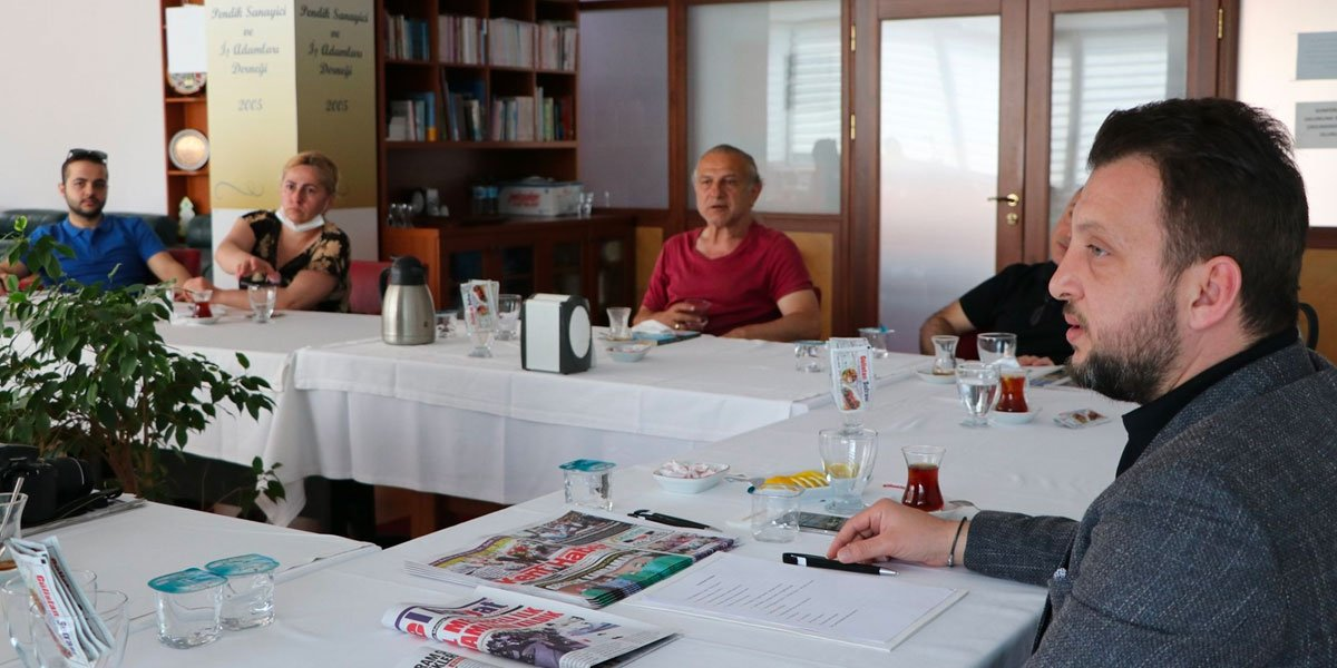 Pendik Yerel Basın Mensupları İle Kahvaltı Programında Bir Araya Geldik-6
