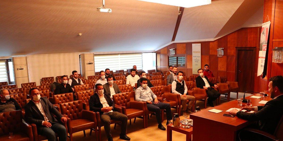 Yeni Normal Hayata Geçiş Sürecinin Başlamasıyla Birlikte PESİAD ve Genç PESİAD Yönetim Kurulu Toplantımızı Gerçekleştirdik-4