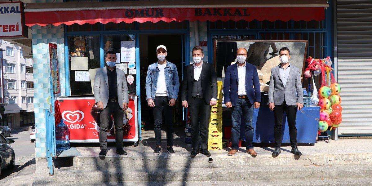 PESİAD Olarak, Üyelerimizin Desteği İle Çeşitli Mahallelerimizin Bakkallarında Bulunan Veresiye Defterlerini Kapattık-2