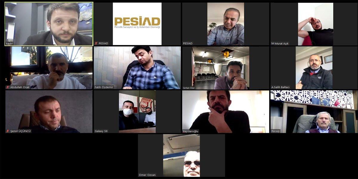 Video Konferans İle Yönetim Kurulu Toplantımızı Gerçekleştik-1