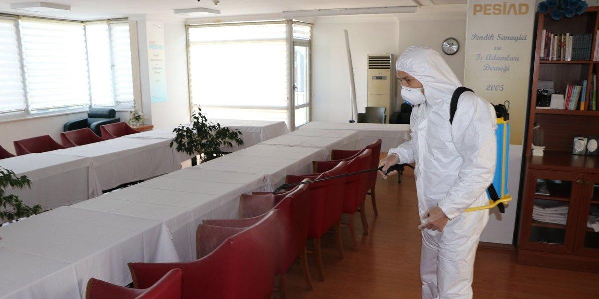 Dernek Binamızı Dezenfekte Ettik-2
