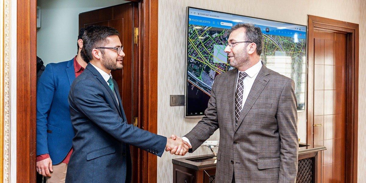 PESİAD ve Genç PESİAD olarak Pendik Belediye Başkanımızı Ziyaret Ettik-1