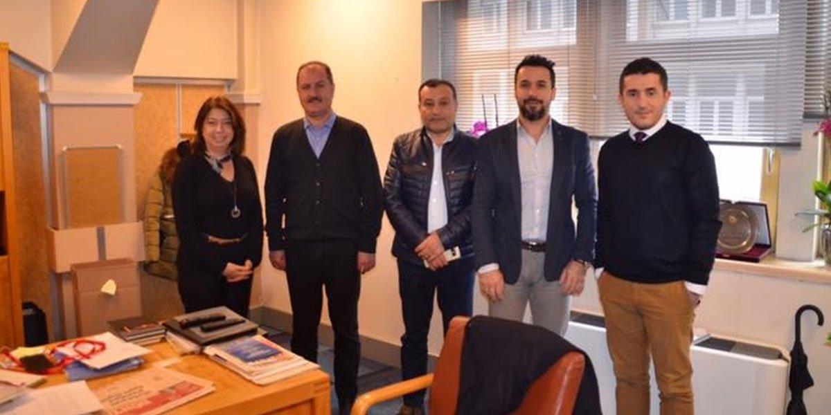 İTO Uluslararası İlişkiler Müdürü Ziyaretimiz-0