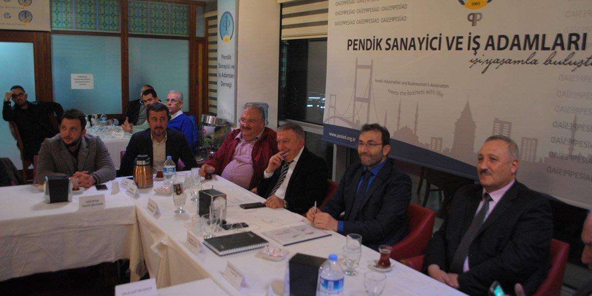 PESİAD Üyelerle Hasbihal başlıklı toplantımız-0