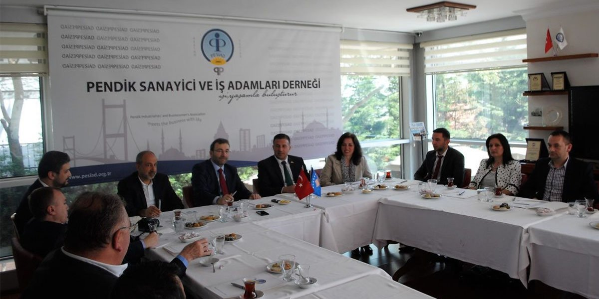 Kosova Devlet Bakanı Rasim Demiri' den PESİAD'a ziyaret…-2