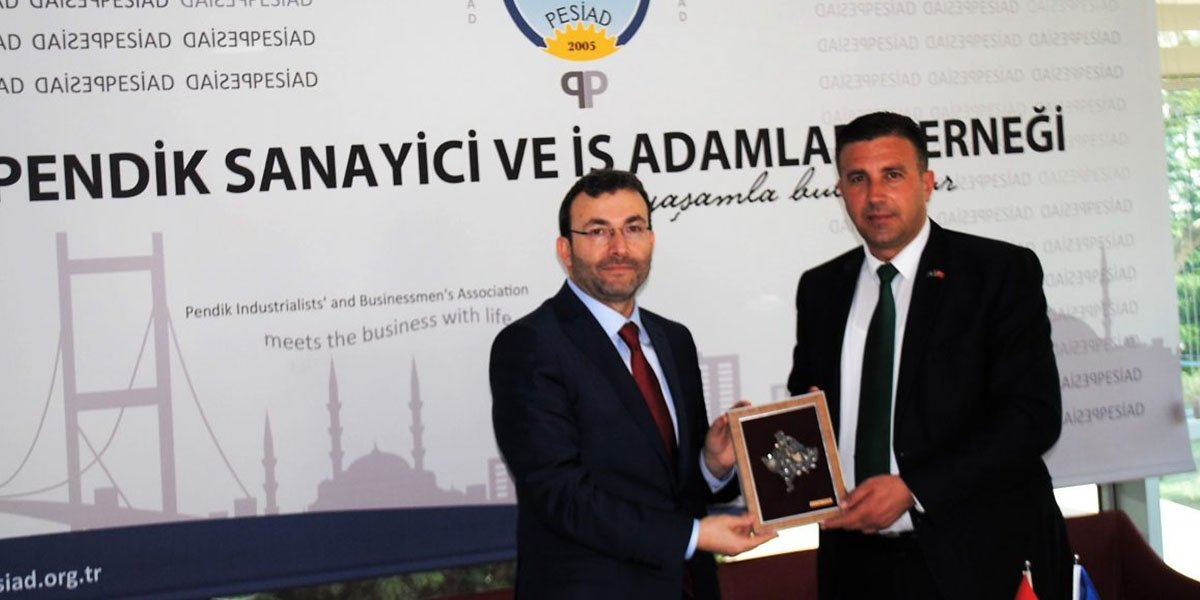 Kosova Devlet Bakanı Rasim Demiri' den PESİAD'a ziyaret…-1