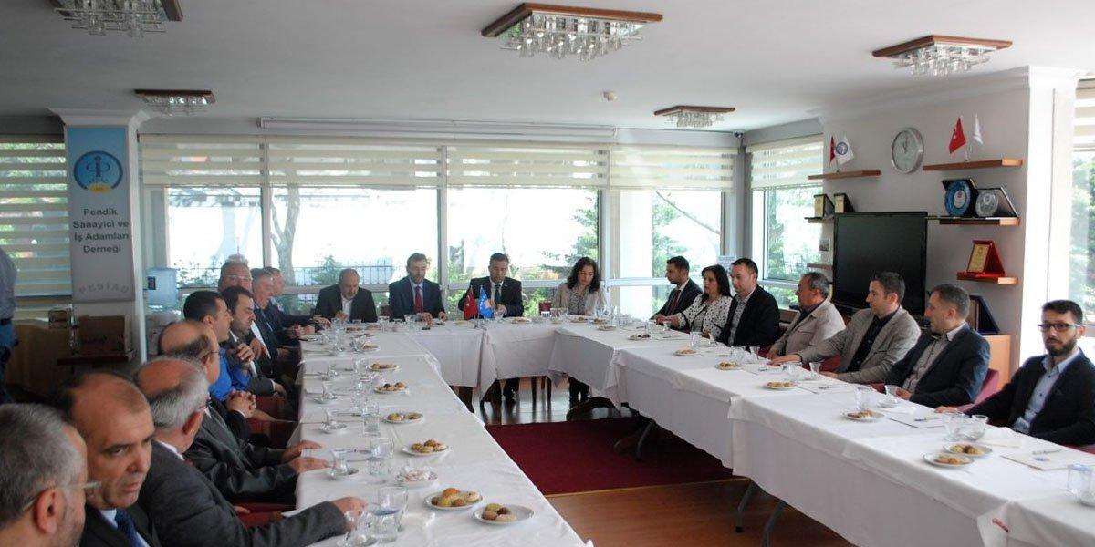 Kosova Devlet Bakanı Rasim Demiri' den PESİAD'a ziyaret…-5