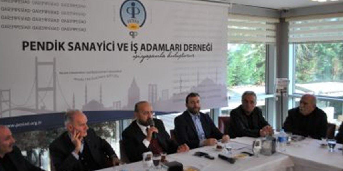 Yalçın Akdoğan PESİAD'ta-1