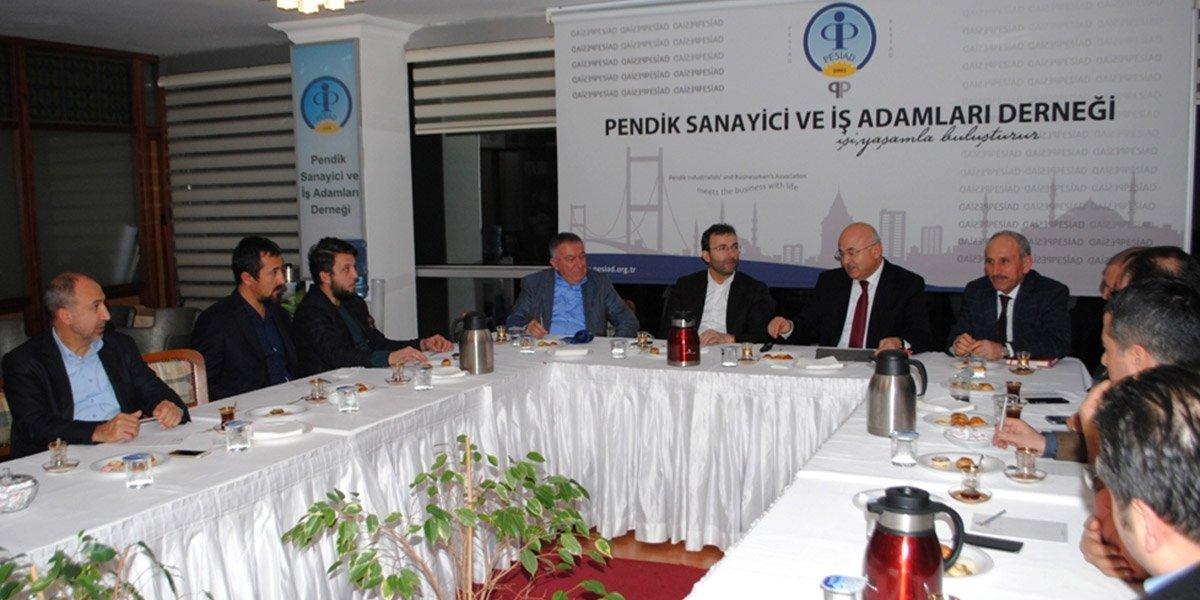 İŞKUR Müdürü Muammer Çoşkun ve İŞKUR Pendik Müdürü Yasin Turunç konuğumuz oldu-0