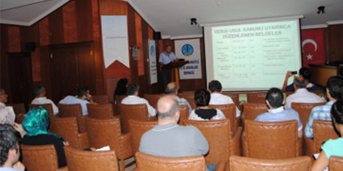 E-Fatura Uygulamaları Başlıklı Bilgilendirme Toplantımız-1