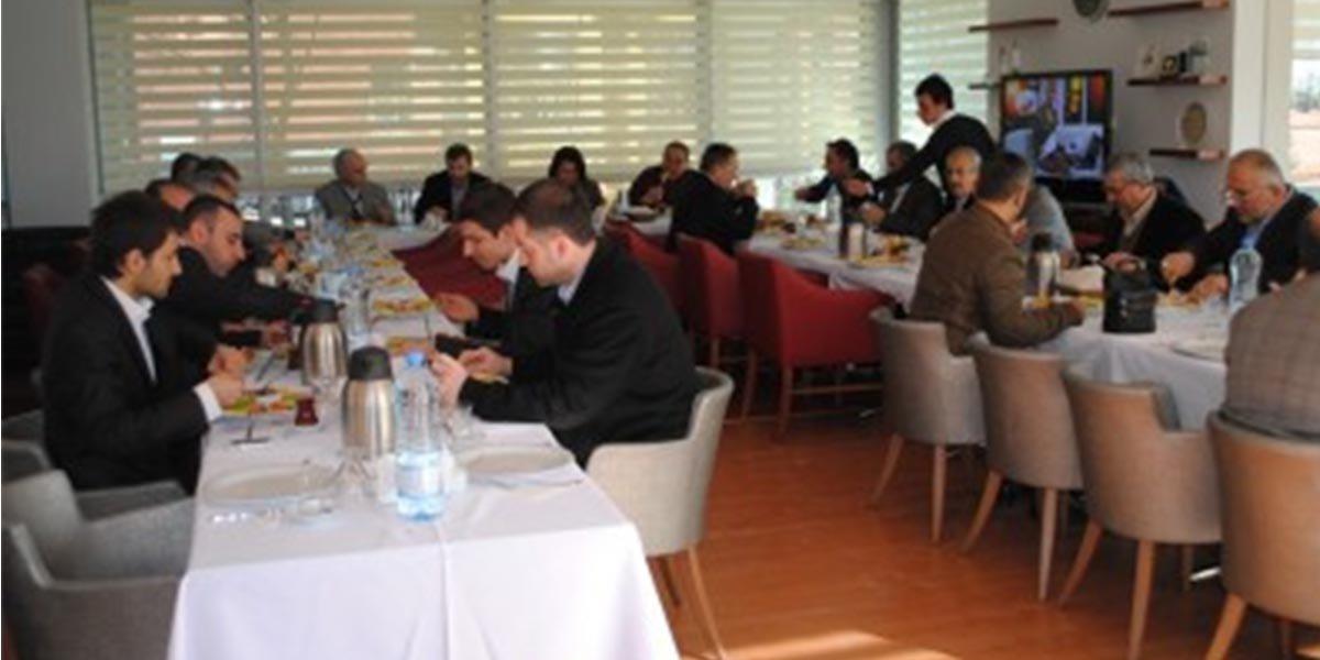 Ev sahipliğini Mehmet OĞUZ'un yaptığı gelenekselleşen Onur Kurulu Kahvaltımız-2