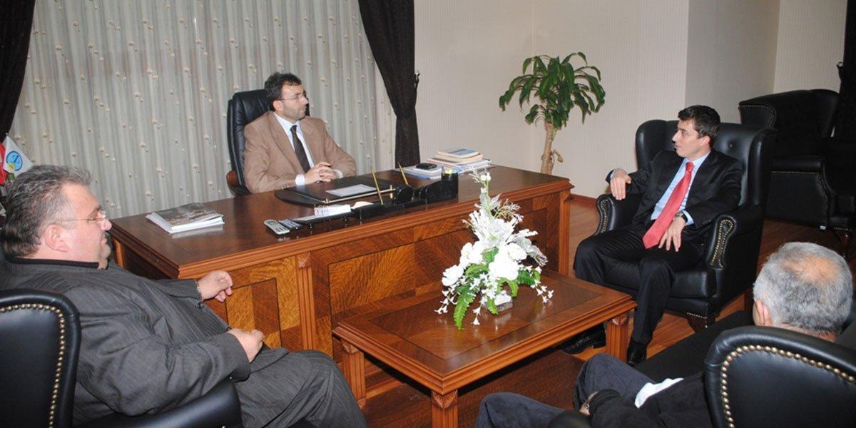 Pendik SGK Yeni Müdürü Mehmet KARA PESİAD'ı ziyaret etti.-0