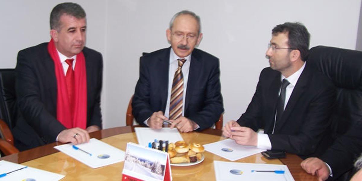CHP Grup Başkanvekili Kemal KILIÇDAROĞLU nun ziyareti-0