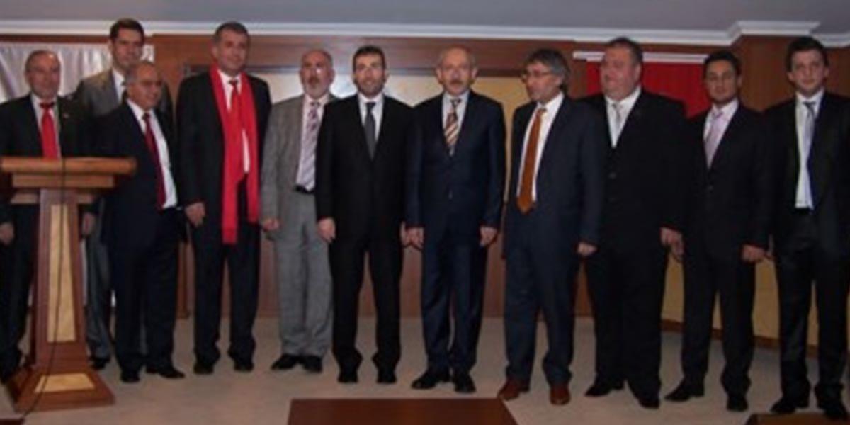 CHP Grup Başkanvekili Kemal KILIÇDAROĞLU nun ziyareti-1