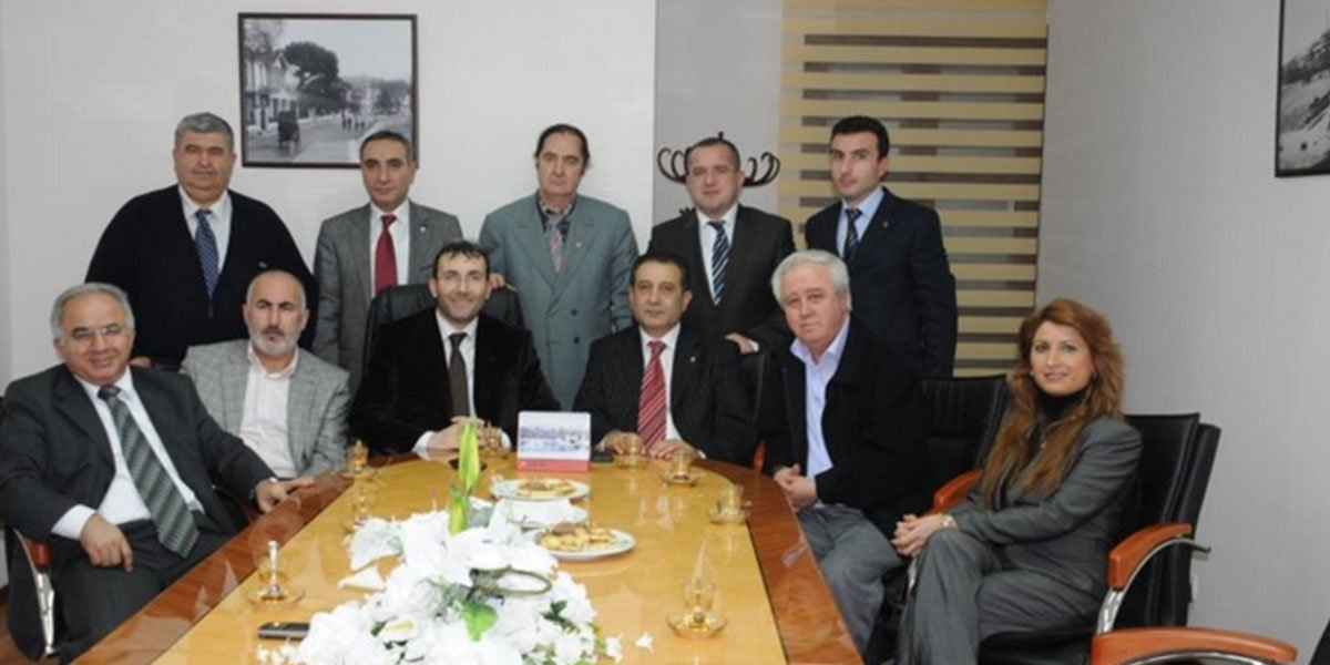 Demokrat Parti Pendik İlçe Başkanı Ensar ÇİNAL ın ziyareti-0