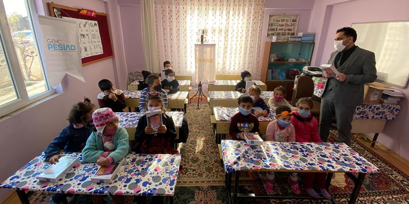 Elazığ'a Tablet Yardımı