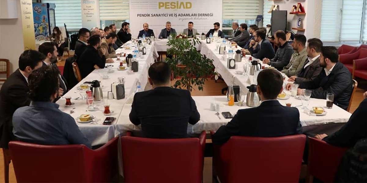 PESİAD ve Genç PESİAD Olarak Yeni Yönetim Kurulu Üyelerimizle Beraber Ortak İlk Yönetim Kurulu Toplantımızı Gerçekleştirdik-4