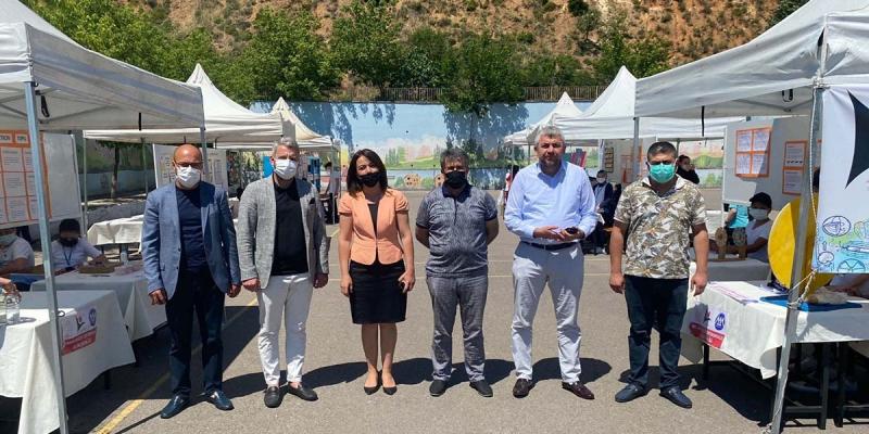 Mehmet Akif Ersoy Ortaokulu Tübitak Bilim Fuarına Katılım Sağladık