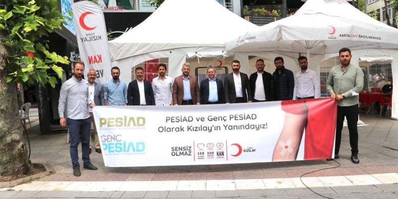 Kızılay'a Kan Bağışı Seferberliği Pendik Çalışmalarına Katılım Sağladık