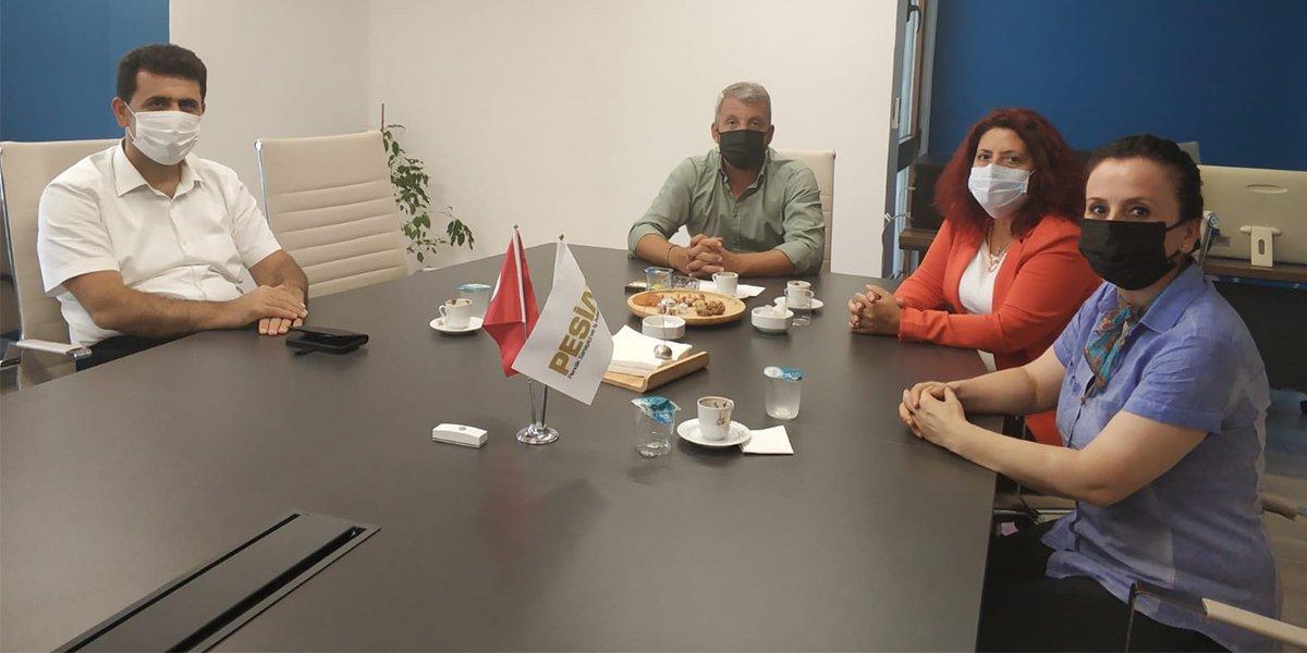 Pendik SGM Müdürü Gülay Toker, Pendik İŞKUR Müdürü Serap Dilaver ve Aziz Doğan Derneğimize Ziyarette Bulundular-0