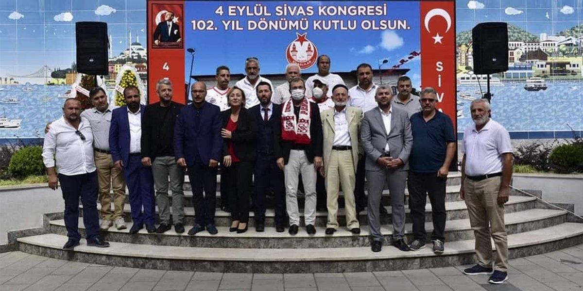 Sivas Kongresinin 102. Yıl Dönümü Kutlama Etkinliğine Katılım Sağladık-0