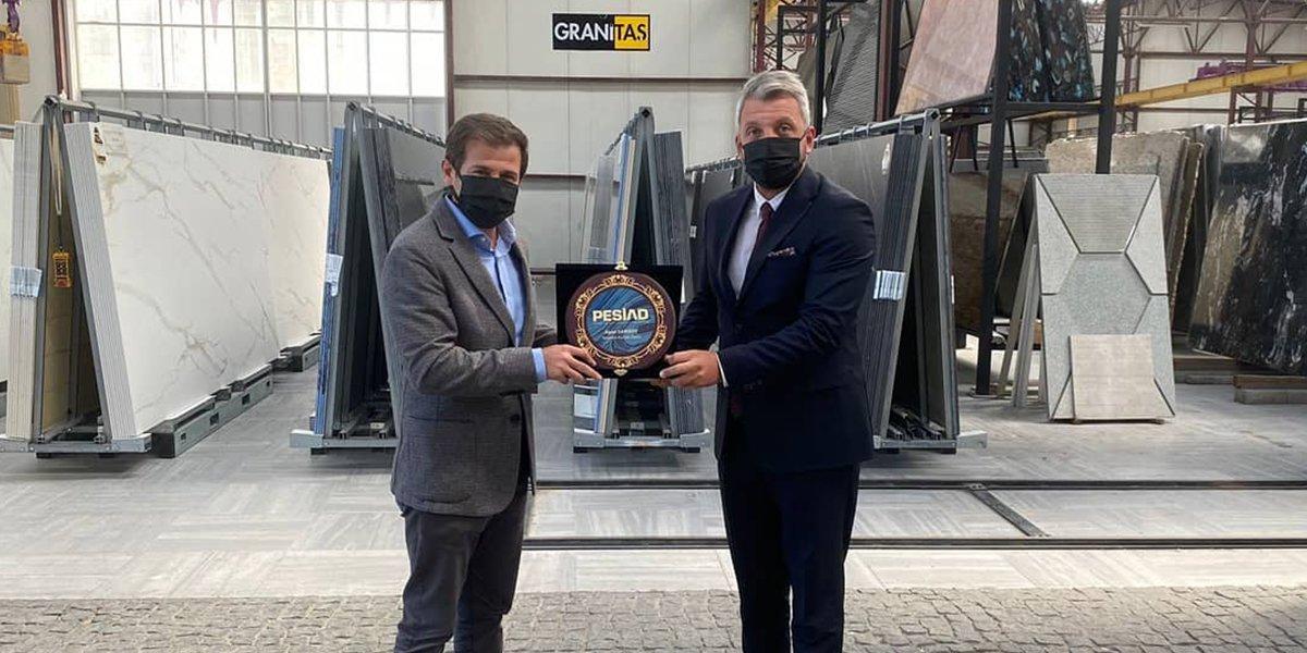 Granitaş Firma Yöneticisi Alper Sarısoy'u Ziyaret Ettik-0