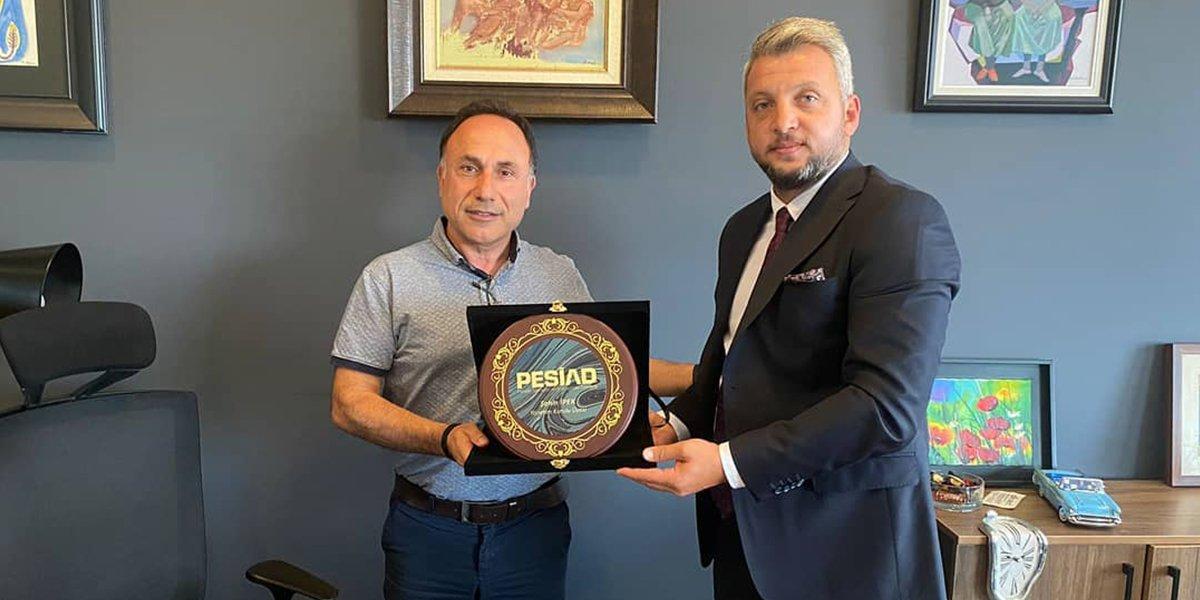 İpekler Elektrik Firma Yöneticisi Şahin İpek'i Ziyaret Ettik-0