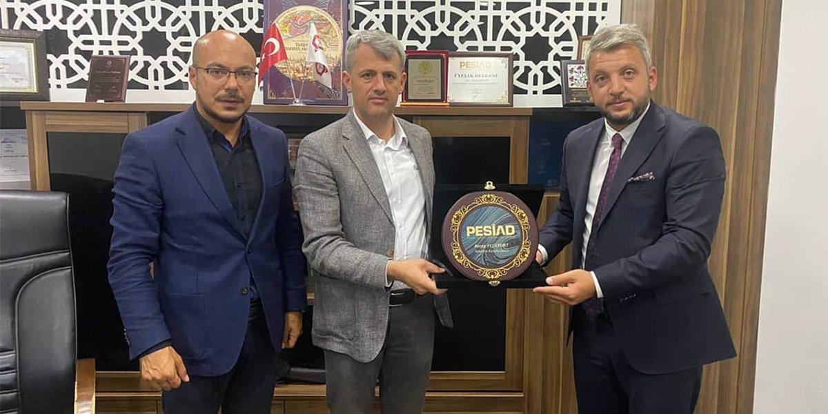 Çavuşoğlu Yemenler Yapı firma Yöneticisi Recep Yeşilyurt'u Ziyaret Ettik-0