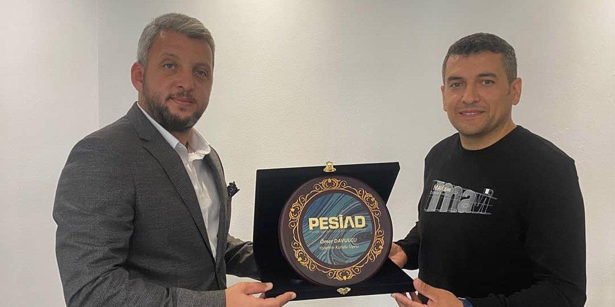 Hermak Mekatronik Firma Yöneticisi Ömer Davulcu'yu Ziyaret Ettik-0