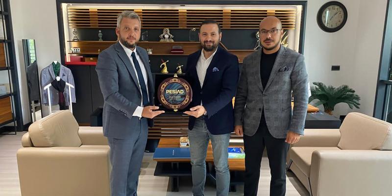 Siltaş Yapı Firma Yöneticisi Murat Özdemir'i Ziyaret Ettik