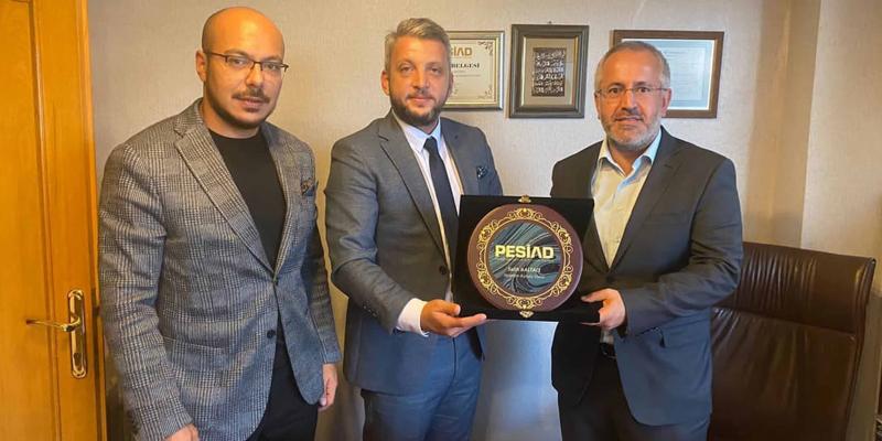 Erdem Mühendislik Firma Yöneticisi Salih Baltacı'yı Ziyaret Ettik