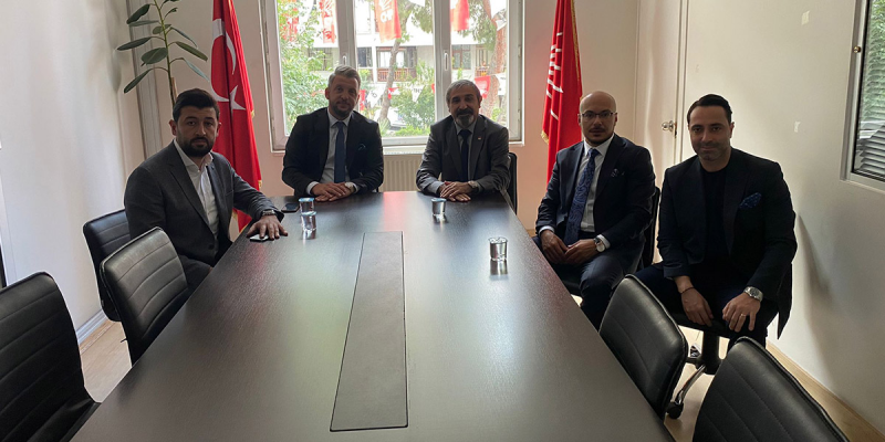 CHP Pendik İlçe Başkanı Doğan Çakmak'ı Ziyaret Ettik