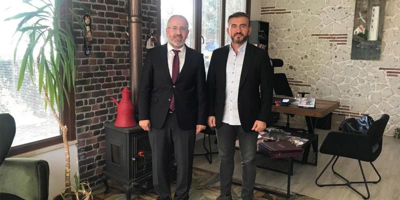 Kurna Köy Muhtarımız ve PESİAD Üyemiz Değerli Harun Yıldırım'ı Ofisinde Ziyaret Ettik