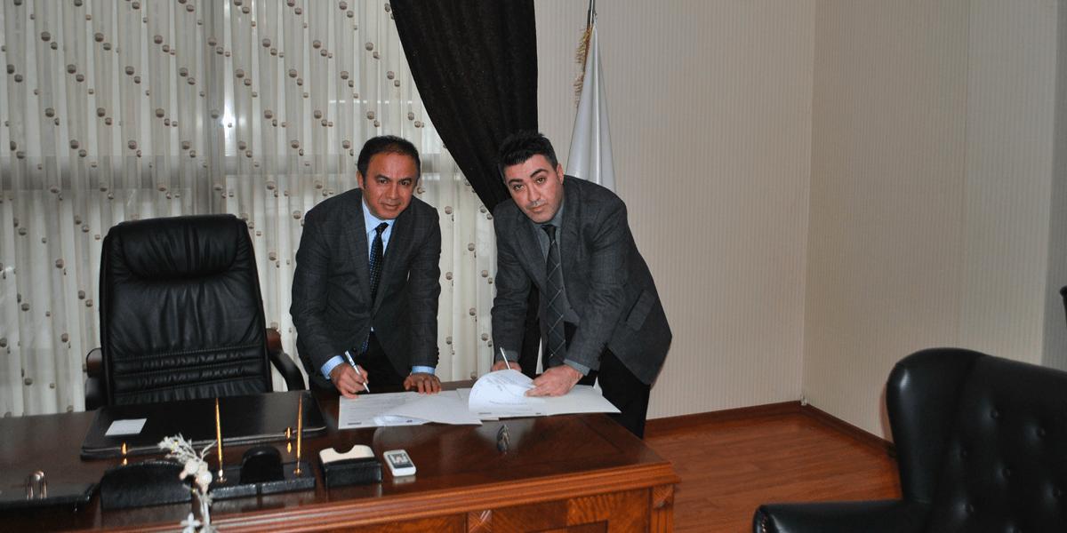 """""""İşletmede Mesleki Eğitim İşbirliği"""" protokolünü imzaladık.-0"""